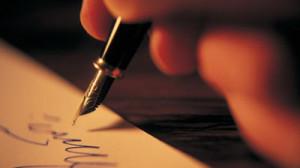 Il poeta scrive di notte