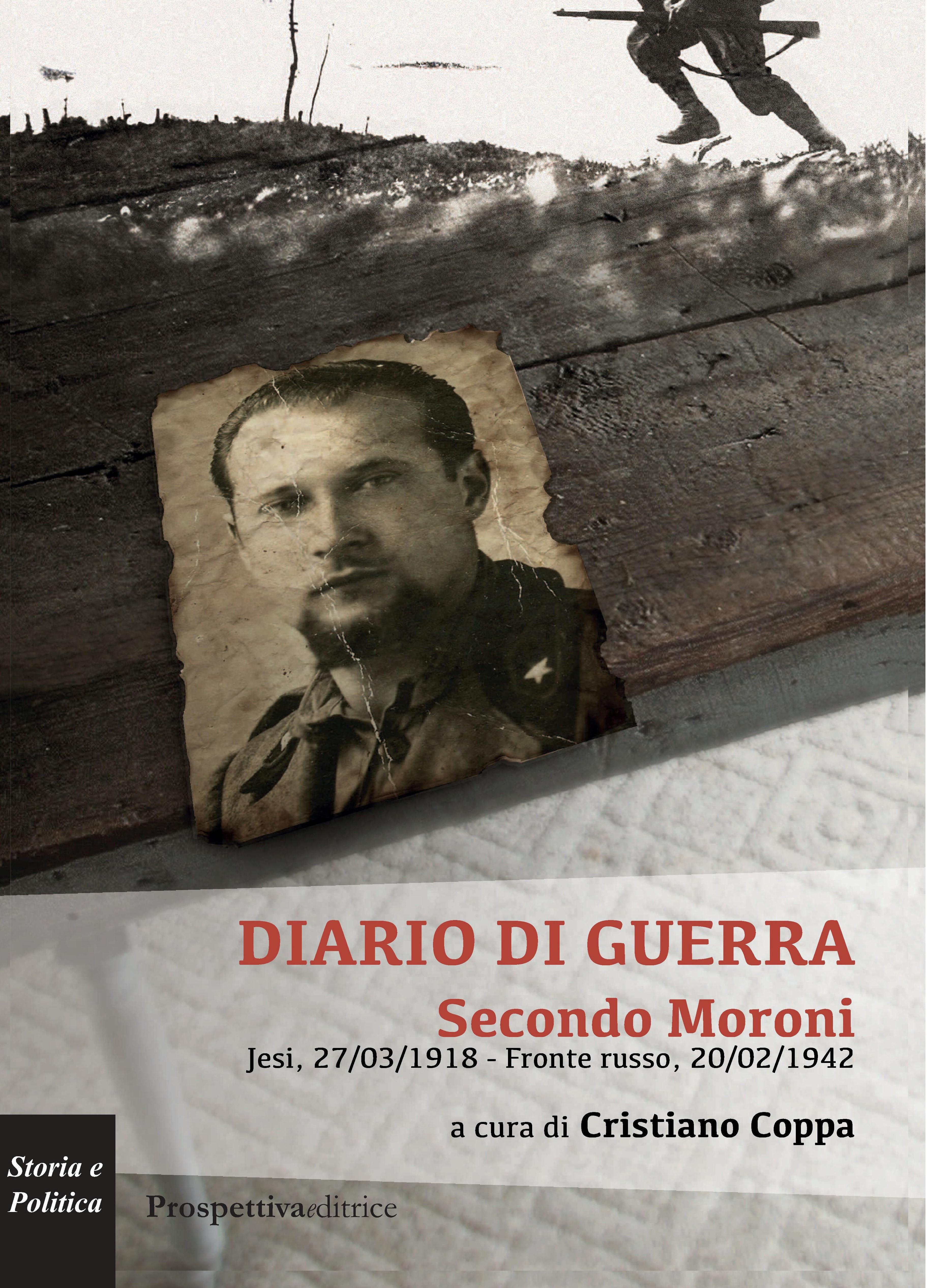 COPERTINA DIARIO DI GUERRA - SECONDO MORONI